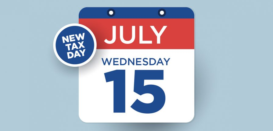 New Tax Date - July 15th